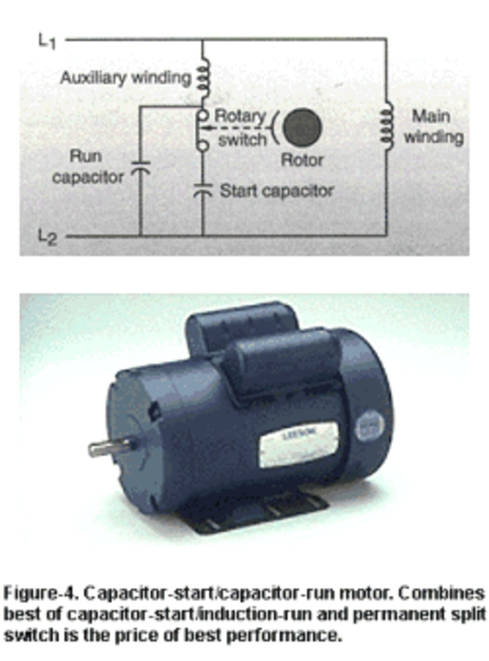 Qin Weng Single Phase Capacitor Start Induction Motor Wiring Diagram