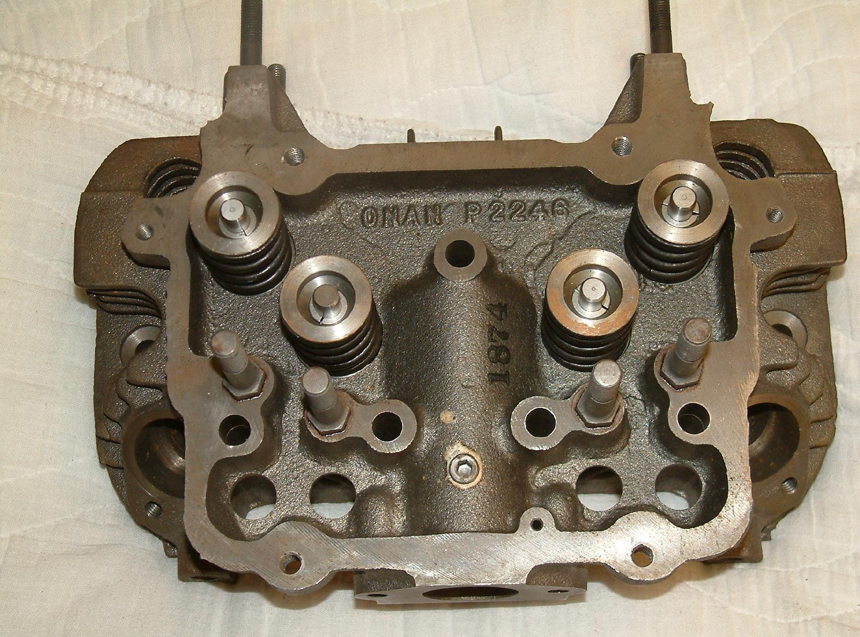 Help me identify these Onan DJC DJE DJB engine heads